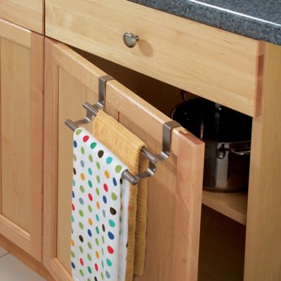 Over The Cabinet Door Towel Bar