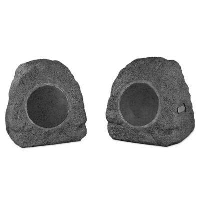 Victrola™ Wireless Outdoor Rock Speakers (Set of 2)