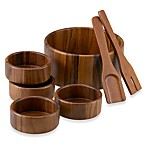 Acacia 7-Piece Salad Bowl Set