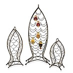 Nested Fish Wine Racks (Set of 3)