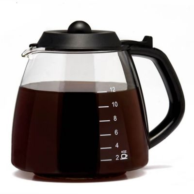 Medelco Universal 12-Cup Replacement Coffee Glass Carafe