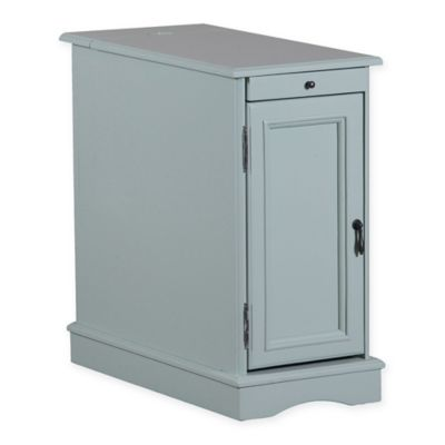 Butler Accent Table in Aqua