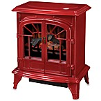 Muskoka® Phoenix Electric Stove in Cranberry
