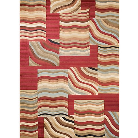 Concord global soho waves multicolor area rug www for P s furniture concord vt