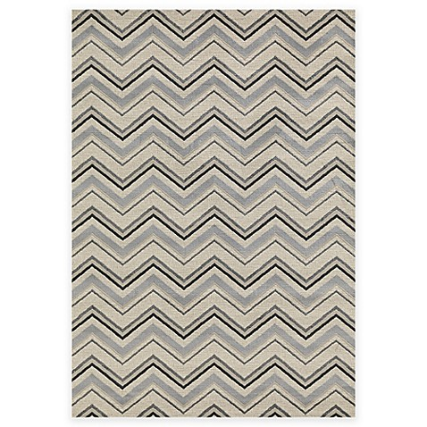 Concord global trading lumina zig zag rug in ivory bed for P s furniture concord vt
