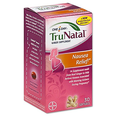 One A Day® TruNatal™ 30-Count Nausea Relief Ginger ...