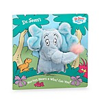 Horton Hears a Who! Can You? Puppet Book by Dr. Seuss