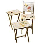 Nature's Wonders 5-Piece Snack Table Set