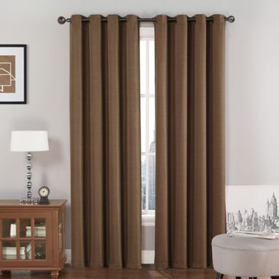 Buy Chocolate Brown Curtains From Bed Bath Amp Beyond