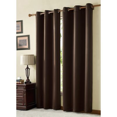 Buy Pink And Brown Curtains From Bed Bath Amp Beyond