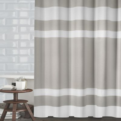 Buy Brown And Grey Shower Curtain From Bed Bath Amp Beyond