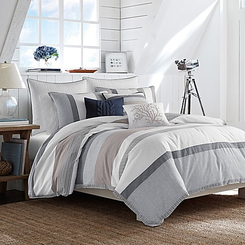 Nautica tideway comforter set in blue bed bath beyond - Bed bath and beyond bedroom furniture ...