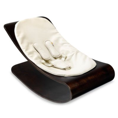 bloom® Coco Stylewood™ Cappuccino Lounger in Organic Coconut White