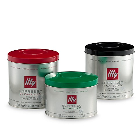 illy® caffe Capsules for iperEspresso Brewers