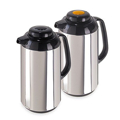 Oggi™ Connoisseur™ Push Button Thermal Vacuum Carafes (Set of 2)