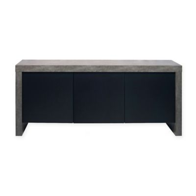 Tema Kobe 3 Door Sideboard in Black