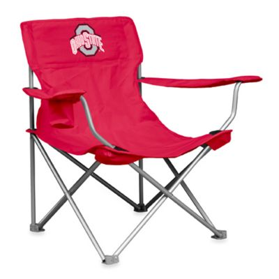 Collegiate Canvas Folding Chair - Ohio State