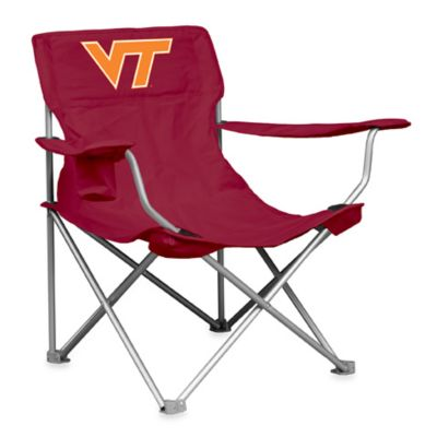 Collegiate Folding Chair - Virginia Tech