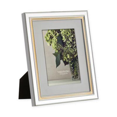 Vera Wang Wedgwood Chime Gold 5-Inch x 7-Inch Frame