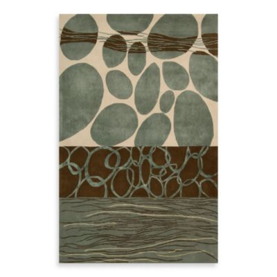 Dimensions Multi-Color 7-Foot x 9-Foot Room Size Rug