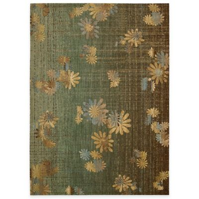 Radiant Impressions 3-Foot 6-Inch x 5-Foot Accent Rug in Green