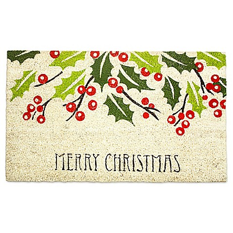 J Amp M Home Fashions 18 Inch X 30 Inch Merry Christmas Door