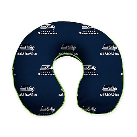 Nfl Seattle Seahawks Memory Foam U Shaped Neck Travel