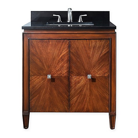 Buy Avanity Brentwood 31 Inch Single Vanity In New Walnut