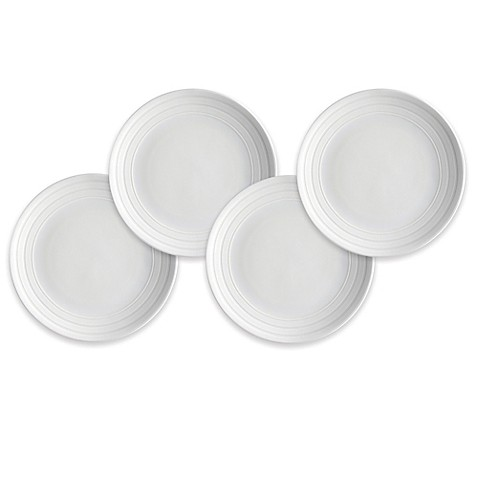 Buy caskata cambridge stripe canap plates set of 4 from for Canape plate sets