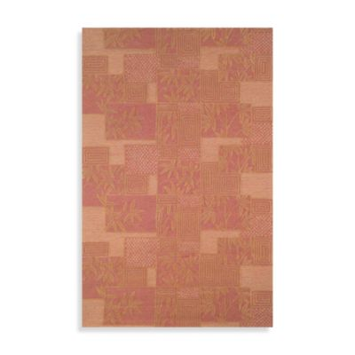 Box Rug by Tommy Bahama in Rust