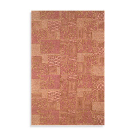 "Box Rust 24"" x 36"" Accent Rug by Tommy Bah"