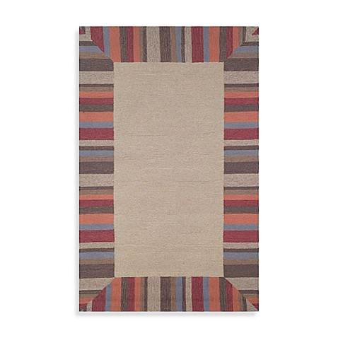 Beach Comber Tobacco 5' x 8' Accent Rug by Tommy Bahama