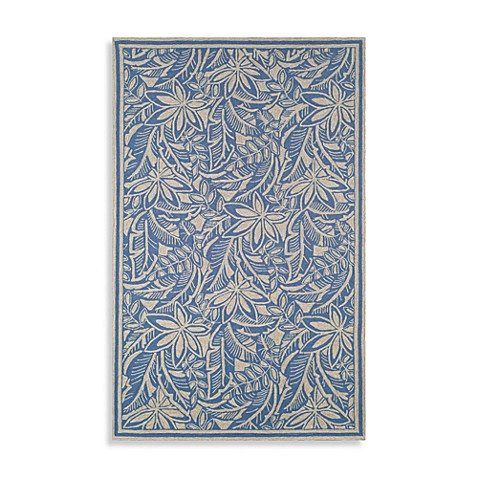 La Baker Ocean Accent Rug by Tommy Bahama - 2-Foot x 3-Foot