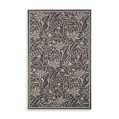 La Baker Rug by Tommy Bahama in Black
