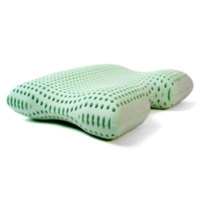 ViscoFresh® Green Tea Memory Foam Advanced Contour Pillow
