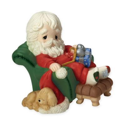 """Precious Moments® """"And to All A Goodnight"""" Santa Figurine"""