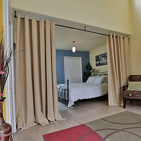 Buy room dividers now x large hanging room divider kit a Hanging room dividers