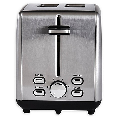 Stainless Steel 2-Slice Toaster