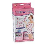 Pink Turbie Twist® Hair Towel (Set of 2)