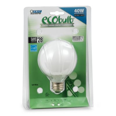 Feit Electric CFL 40-watt G25 Globe