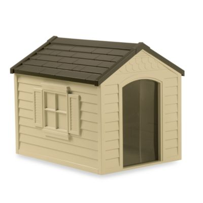 Suncast® Deluxe Dog House