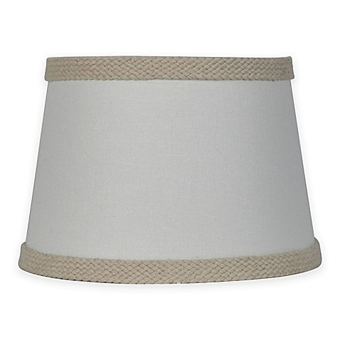 buy mix match small 10 inch burlap trim lamp shade in cream from bed. Black Bedroom Furniture Sets. Home Design Ideas