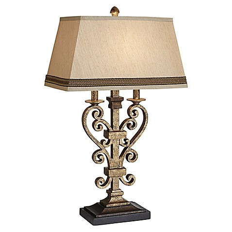 Buy Pacific Coast Lighting 174 Odessa Table Lamp In Antique