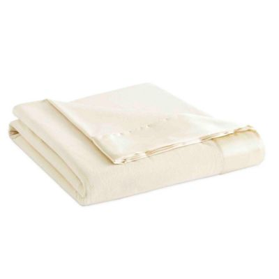 Micro Flannel® All Seasons Year Round Full/Queen Sheet Blanket in Ivory