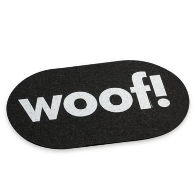 "Ore Originals Jumbo Recycled Rubber ""Woof"" Placemat"