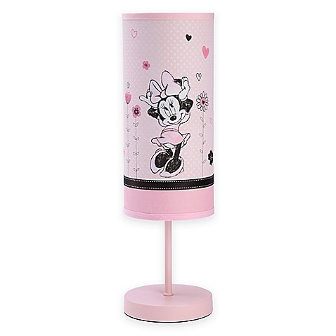 disney minnie mouse hello gorgeous lamp and shade. Black Bedroom Furniture Sets. Home Design Ideas
