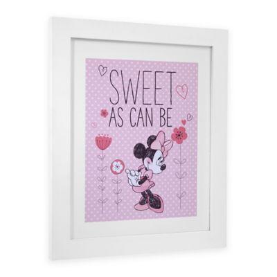 Disney® Minnie Mouse Hello Gorgeous Framed Wall Art
