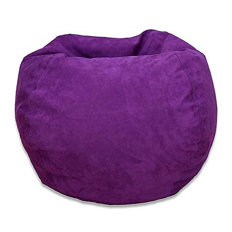 Large Microsuede Bean Bag Chair