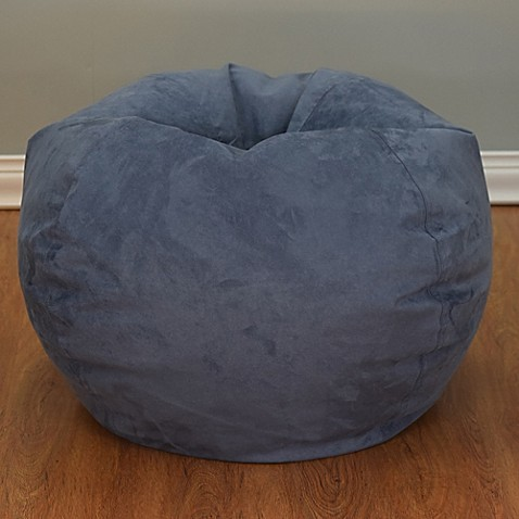 Large Microsuede Bean Bag Chair Www Bedbathandbeyond Com