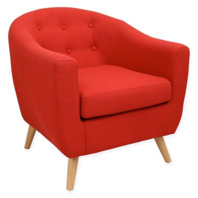 LumiSource Rockwell Chair in Red